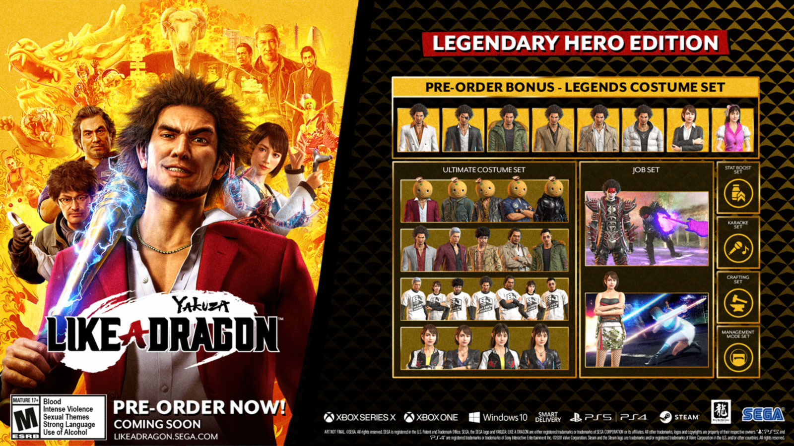 Yakuza: Like a Dragon – Digital Legendary Hero Edition