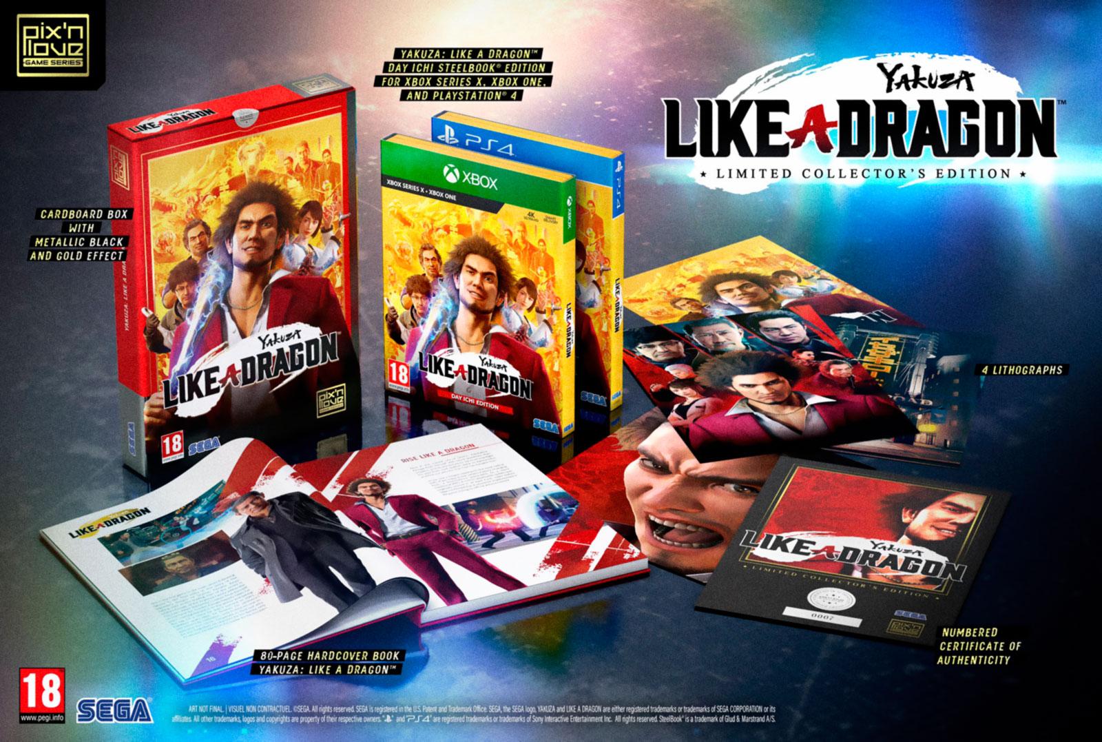 Yakuza: Like a Dragon – коллекционное издание