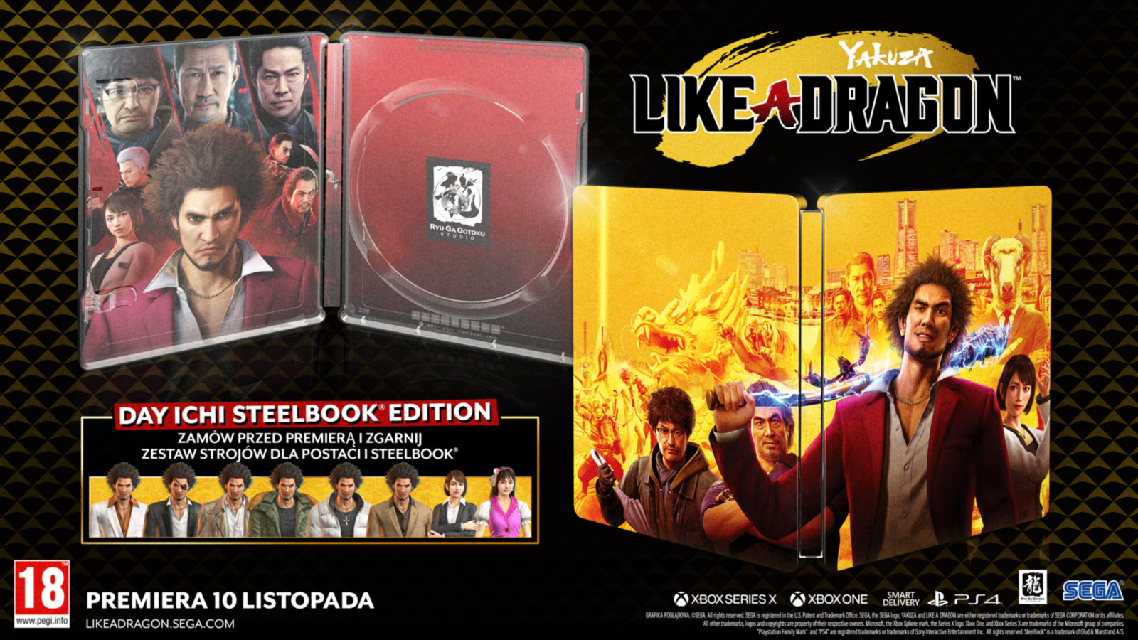 Yakuza: Like a Dragon – Steelbook Edition