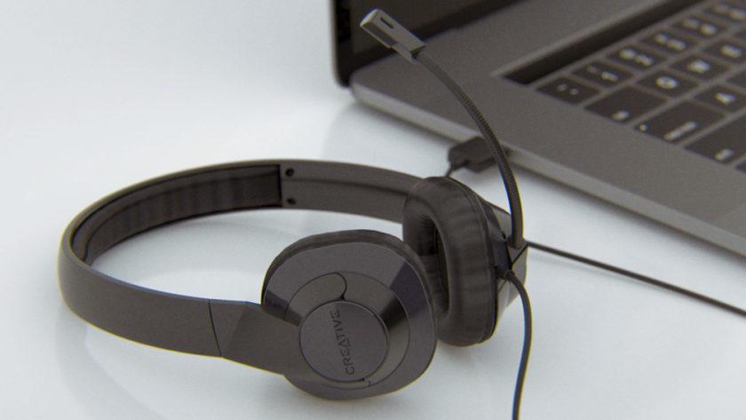 Creative HS-720 V2: гарнитура для работы на удаленке