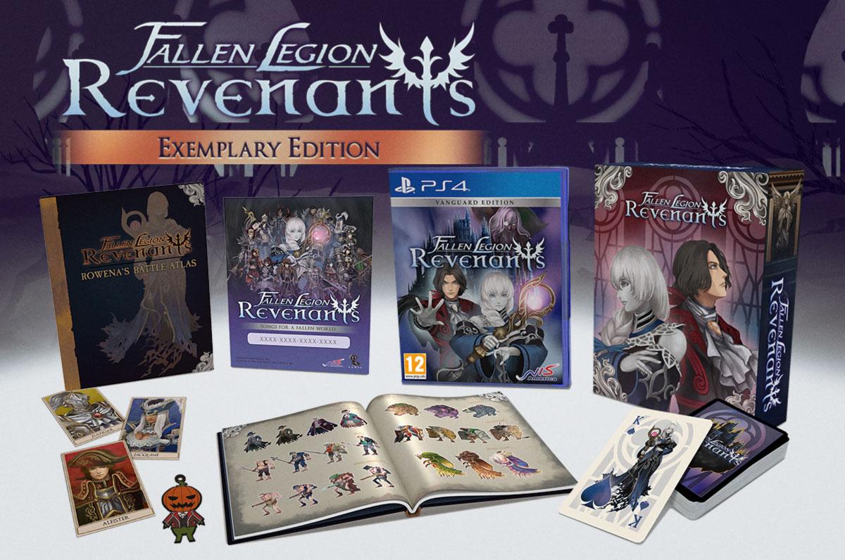Fallen Legion: Revenants – коллекционное издание Exemplary Edition