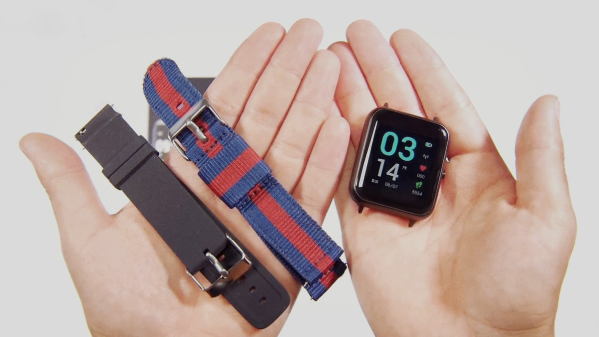 Lenovo Smart Watch S2: комплектация