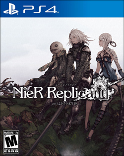 NieR:Replicant (Box Cover)