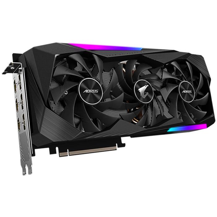 Видеокарта AORUS GeForce RTX 3070 MASTER 8G