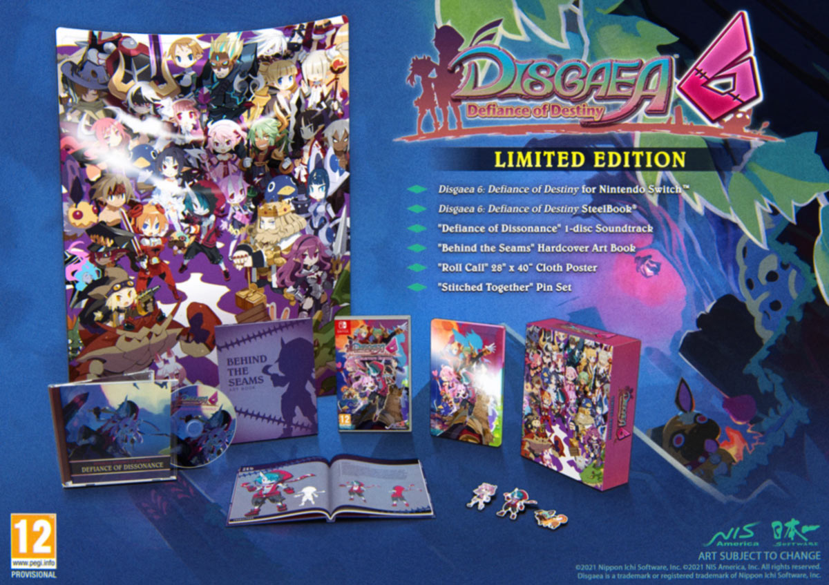 Disgaea 6: Defiance of Destiny – Limited Edition