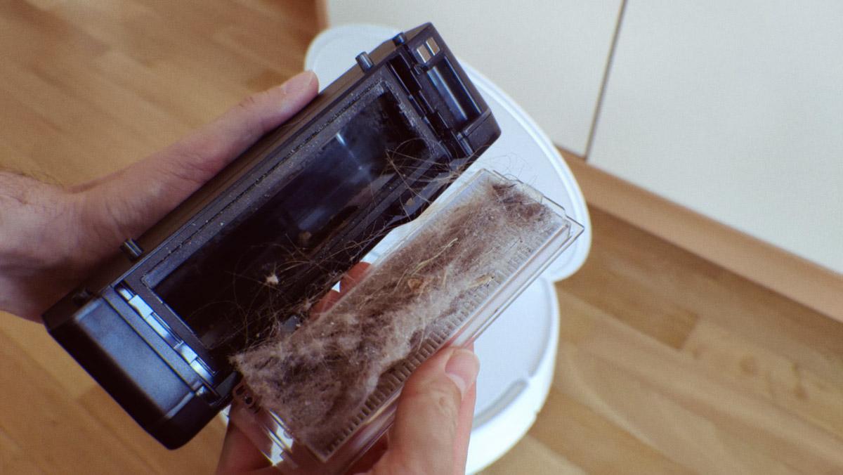 Viomi SE: качество уборки