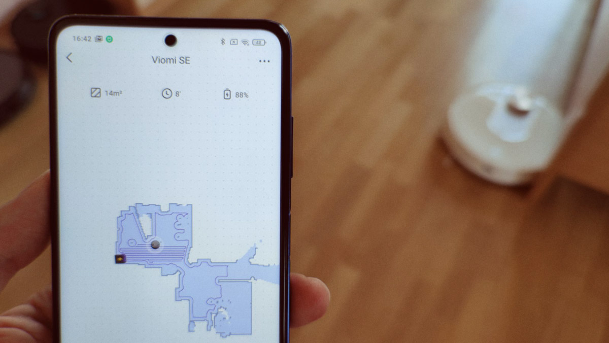 Viomi SE: управление со смартфона