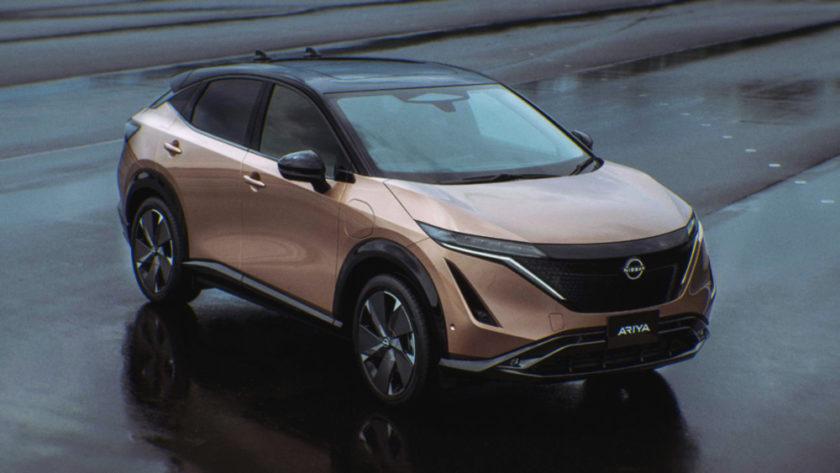 Электрокар Nissan Ariya прошел финальные испытания на полигоне Хоккайдо