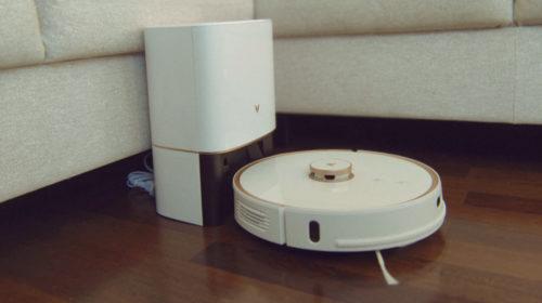 Viomi S9: робот-пылесос с функцией автоматической выгрузки пыли