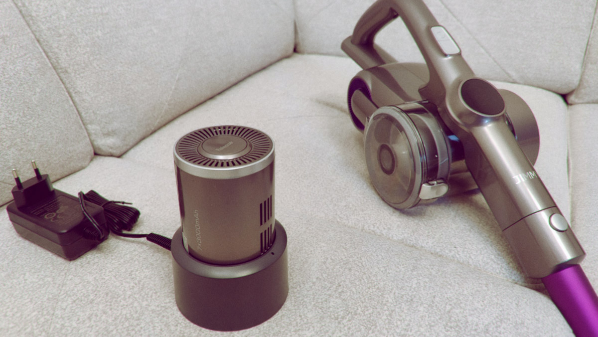 Jimmy H8 Pro: удобный беспроводной пылесос