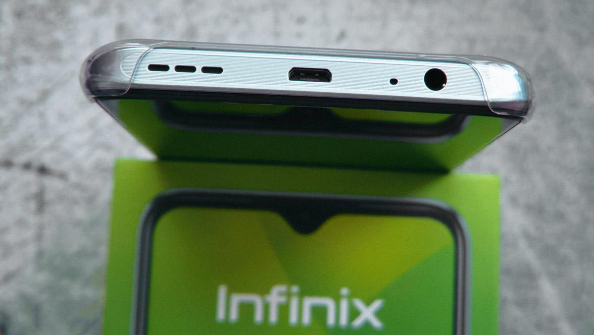 Infinix HOT 10S: автономная работа